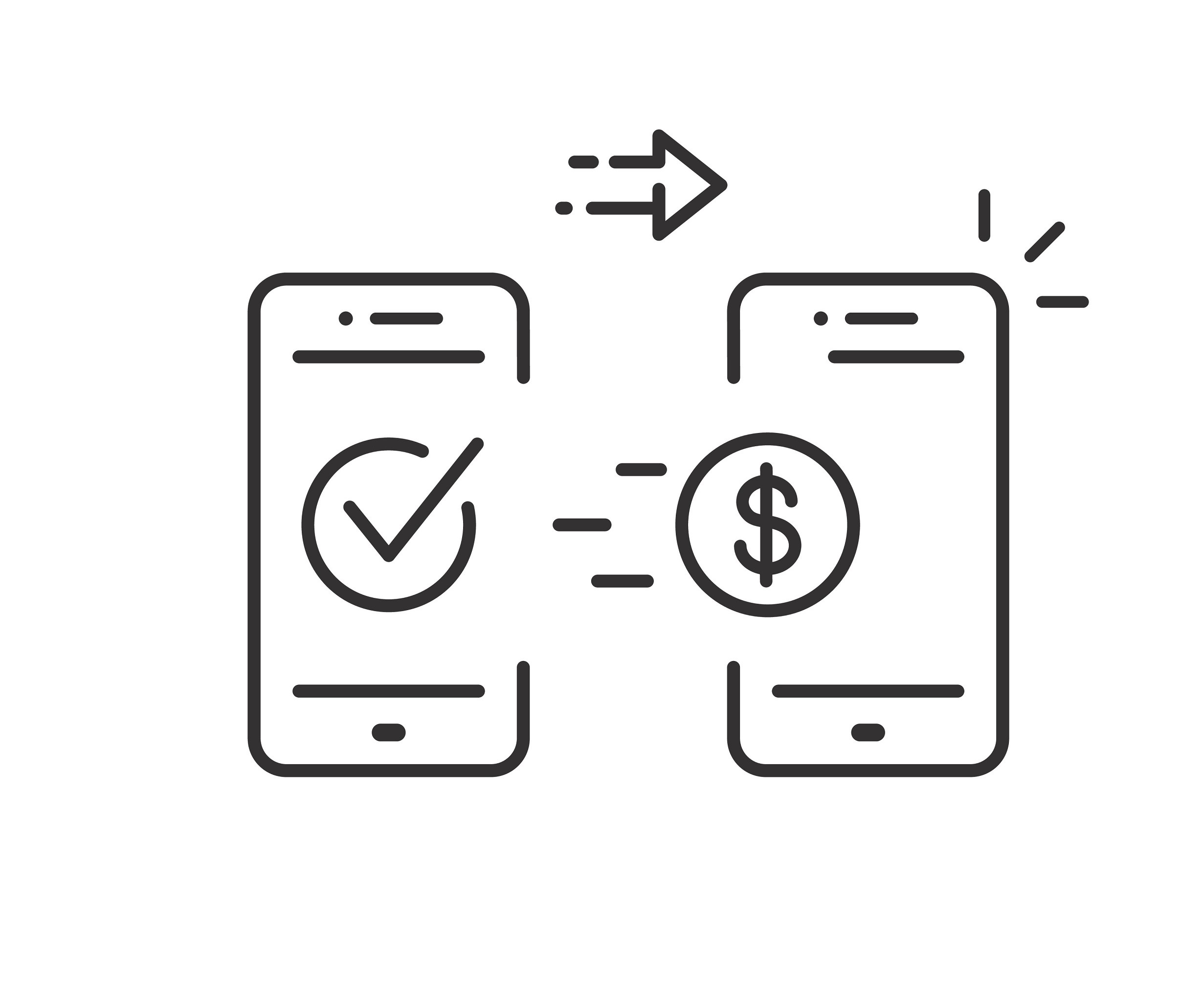 Mobile Money Transfer Icon